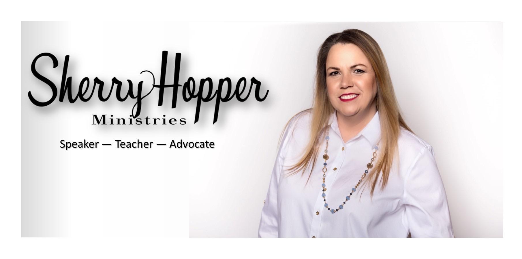 Sherry Hopper Banner